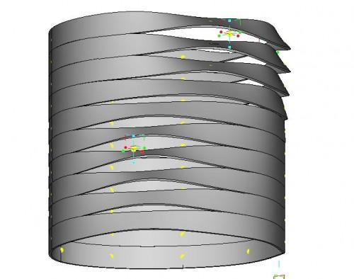 Parametric Facade: Responsive Shutter Overview