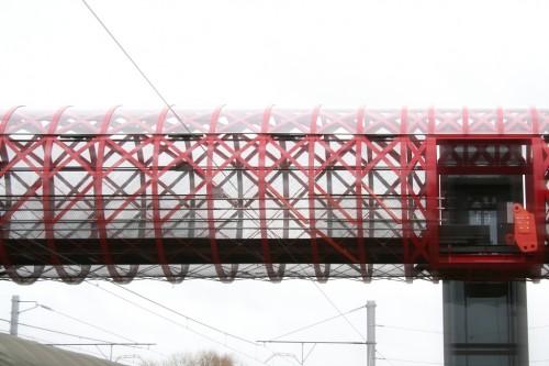 footbridge La Roche sur Yon