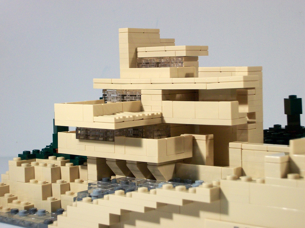 Geomag archives morphocode - Falling waters lego ...
