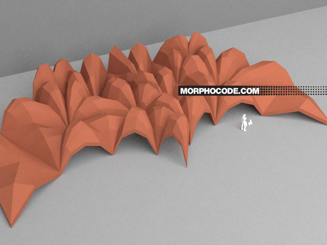 Branching Structure - Top View by Morphocode