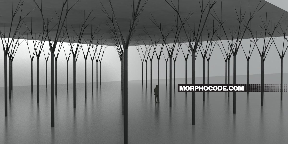 Column Forest by morphocode