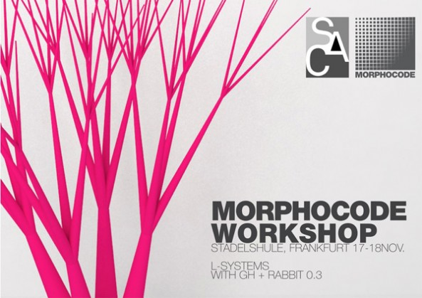 Morphocode Workshop at Städelschule Architectural Class