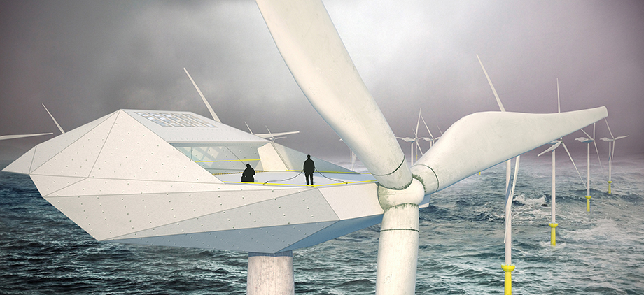 Wind turbine loft morphocode Wind architecture