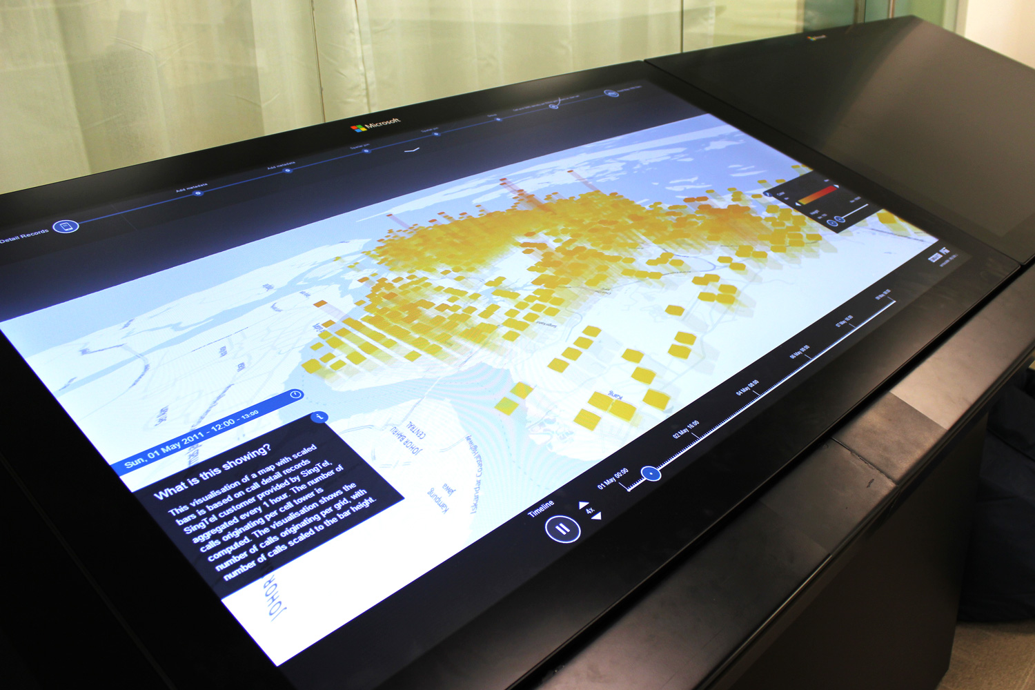 Data Drives - Interactive Installation by the MIT Senseable City Lab