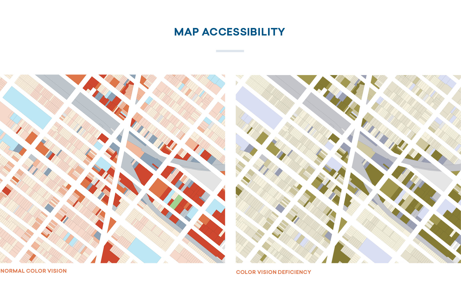 color in maps: accessibility